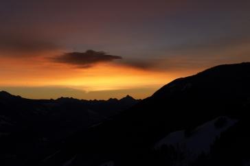 Exceptional sunrise.
